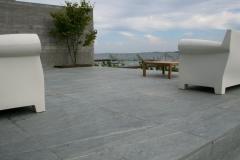 Kvarts skifer eksklusiv terrasse Høruphav