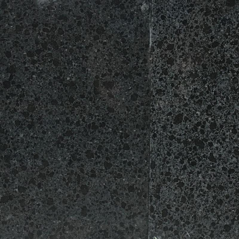Granit Gulvflise Poleret Sort Let Spil 30,5×30,5 Cm
