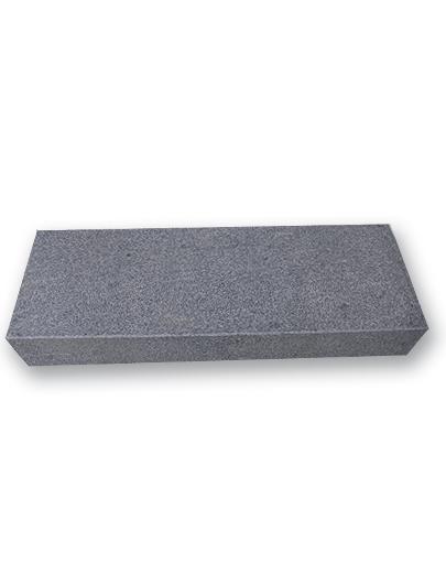 Granit Trin Brændt Gråsort 150×35 Cm 15 Cm