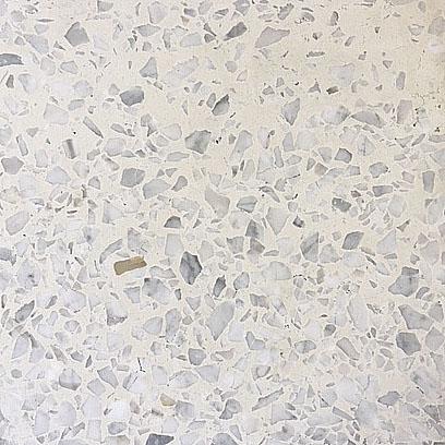 Marmorsplit Fliser Hvid Sleben 30×30 Cm 26 Mm