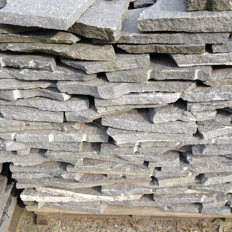Granit Brud Belægning Grå 2-4 Cm: